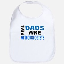 Real Dads Are Meteorologists Bib