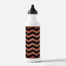CHV3 BK MARBLE COPPER Water Bottle