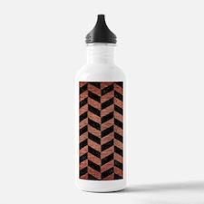 CHV1 BK MARBLE COPPER Water Bottle