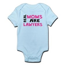 Real Moms Are Lawyers Body Suit