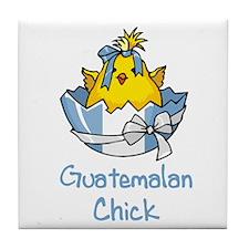 Guatemalan Chick Tile Coaster