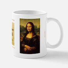 Mona Lisa by Leonardo da Vinci Small Small Mug
