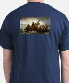 Washington Crossing the Delaware by L T-Shirt