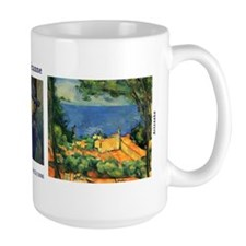 L'Estaque with Red Roofs by Cezanne Mug