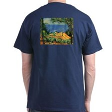 L'Estaque with Red Roofs by Cezanne T-Shirt