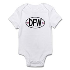 Texas Euro Oval - DFW Infant Bodysuit