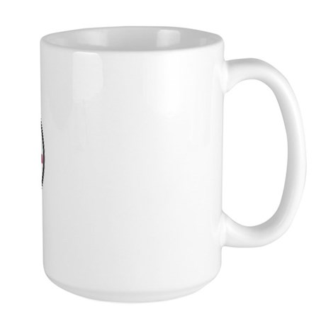 Texas Euro Oval - DFW Large Mug