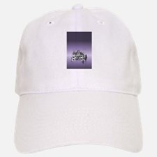Haunted House Tall Purple Baseball Baseball Cap