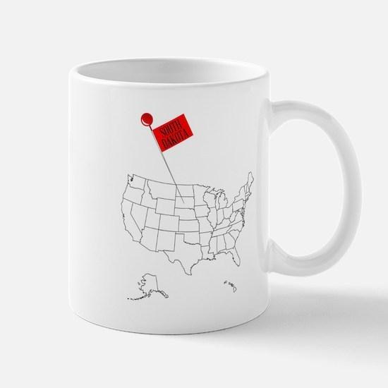 Knob Pin South Dakota Mugs