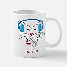Music Cat Mugs