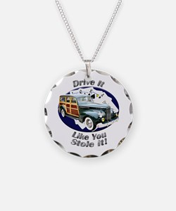Packard Woodie Necklace