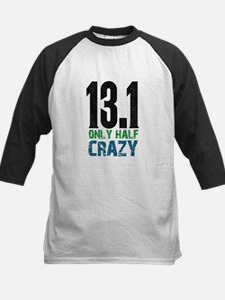 halfmarathonhalfcrazy Baseball Jersey