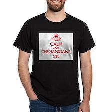 Unique I love shenanigans T-Shirt
