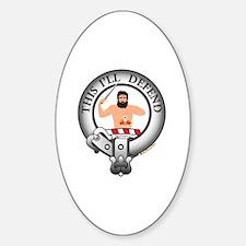 MacFarlane Clan Sticker (Oval)
