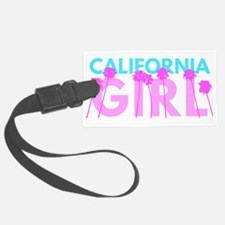 California Girl Luggage Tag