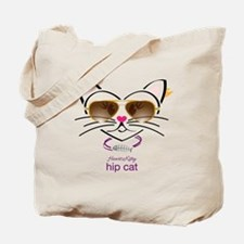 Hip Cat Tote Bag