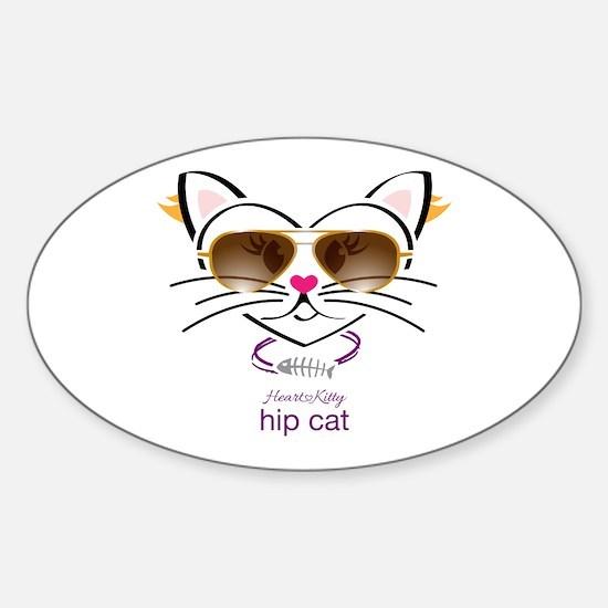 Hip Cat Decal
