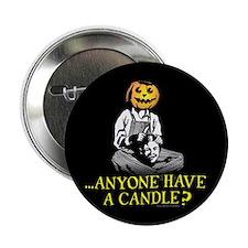 """Pumpkin Man 2.25"""" Button (100 pack)"""