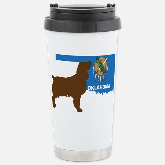 Oklahoma LBD Stainless Steel Travel Mug
