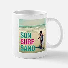SUN SURF SAND Mugs