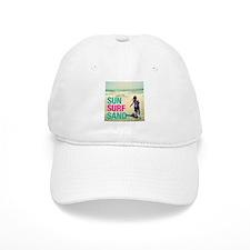 SUN SURF SAND Baseball Baseball Cap