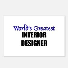 Worlds Greatest INTERIOR DESIGNER Postcards (Packa