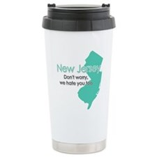 Unique New jersey Stainless Steel Travel Mug
