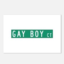 Gay Boy Court, Red Bank (NJ) Postcards (Package of