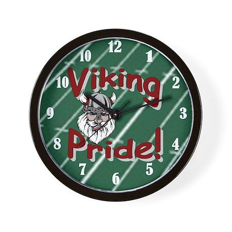 Viking Pride Wall Clock