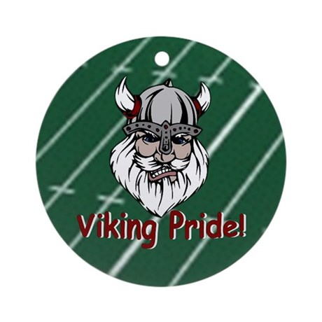 Viking Pride Ornament (Round)