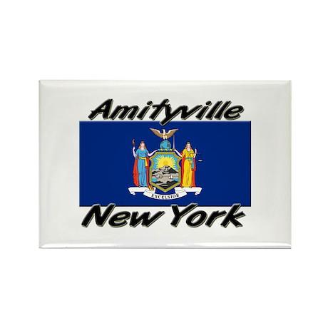Amityville New York Rectangle Magnet