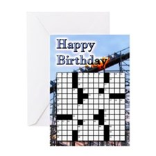 Roller Coaster Birthday Greeting Cards