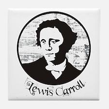 Lewis Carroll Tile Coaster
