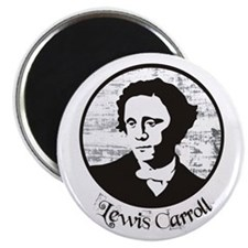 Lewis Carroll Magnet