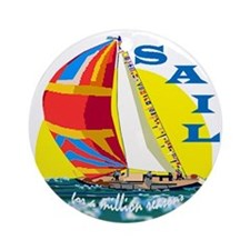 SAIL Ornament (Round)