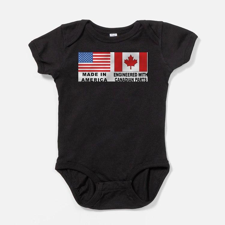 Cute Leafs Baby Bodysuit