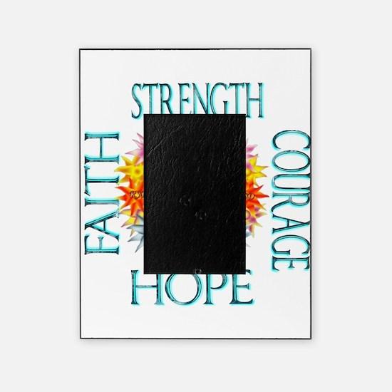 Faith Strength Courage CRPS RSD Grow Picture Frame
