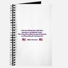 Adlai Stevenson Quote Journal