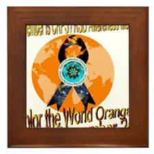 CRPS RSD Awareness Month November Framed Tile