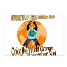 CRPS RSD Awareness Month Postcards (Package of 8)