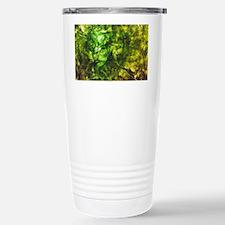 Green Textured Virginia Travel Mug