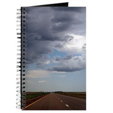 Rainstorm Approaches Road Journal