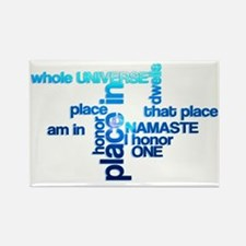Cool Peace with honor Rectangle Magnet