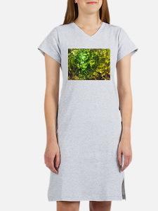 Green Textured Viola's Fave Women's Nightshirt
