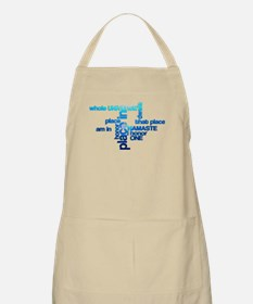 Namaste Meaning Word Cloud Apron