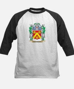Chambers Coat of Arms - Family Cre Baseball Jersey