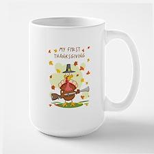 MY FIRST THANKSGIVING Mug
