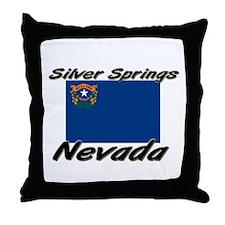 Silver Springs Nevada Throw Pillow