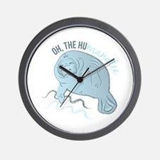 Oh The Humanatee Wall Clock