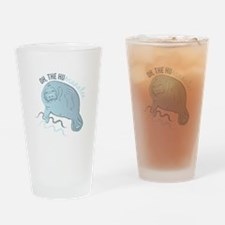 Oh The Humanatee Drinking Glass